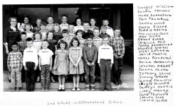 Westmoreland  Grade School 2nd grade. Class of 1967